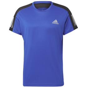 adidas OWN The Run SS Tee Men team royal blue/reflective silver